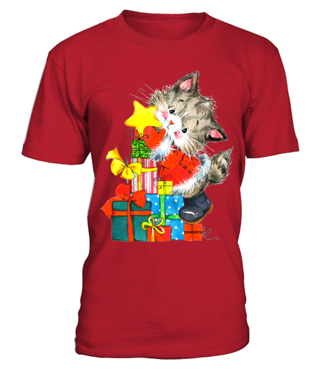 GIFTS FROM A CHRISTMAS CAT T-shirt | Teezily