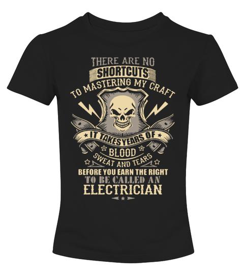 T-Shirt electrician | Teezily