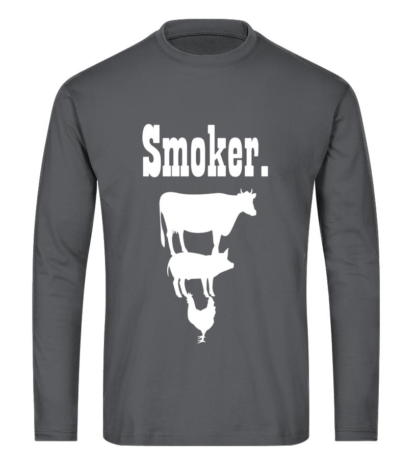 24fc75632 T-shirt - Smoker BBQ Shirt - Funny Barbeque Grilling T-Shirt | Teezily