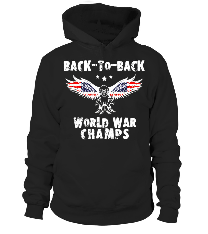 5d625f02 Back-To-Back World War Champs T-Shirt WW1 WW2 Vintage Tshirt ...