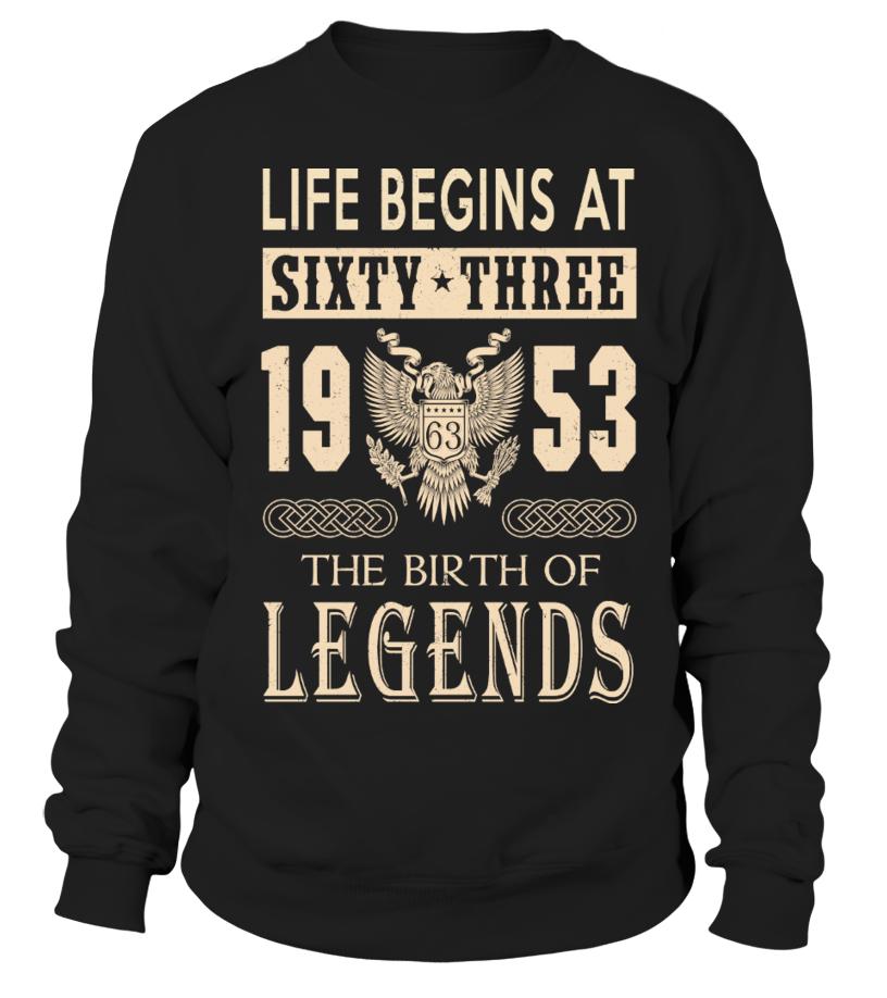 8b2a55343 1953 - Legend T-shirts - Sweatshirt | Teezily