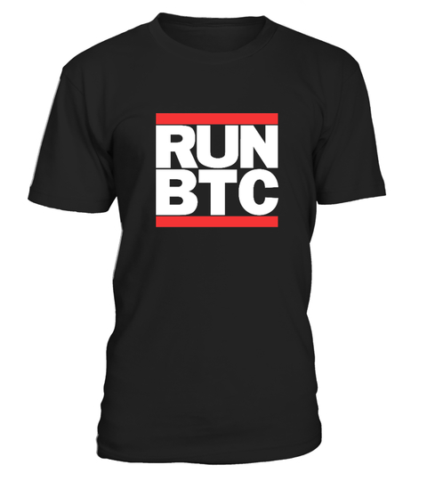 BITCOIN RUN BTC T-Shirt | Teezily