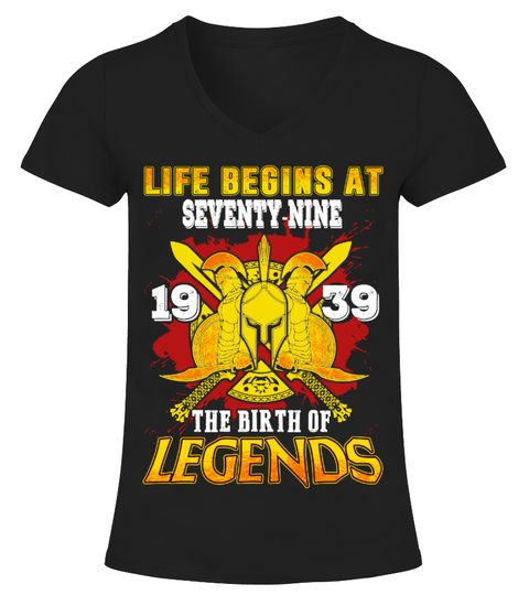 Camiseta 1939-79 The Birth Of Legends Shirt | Teezily