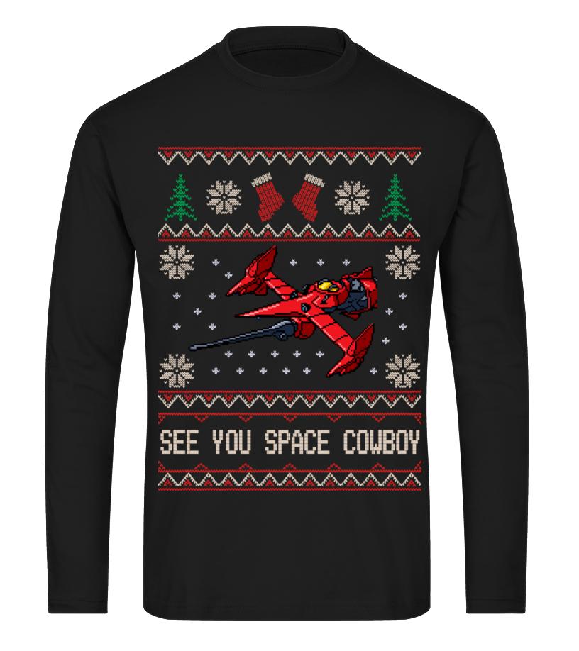 5a683e63ac37 Space Cowboy Ugly Sweater - T-shirt