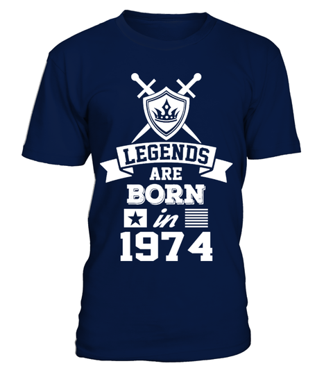 Legends are Born in 1974 T-Shirt