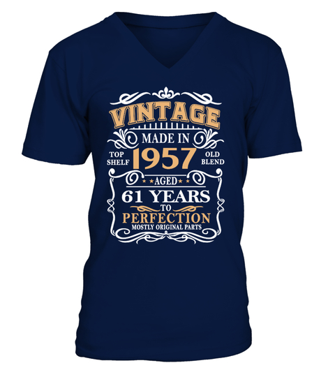 made in 1957 61 years to perfection T-shirt | Teezily