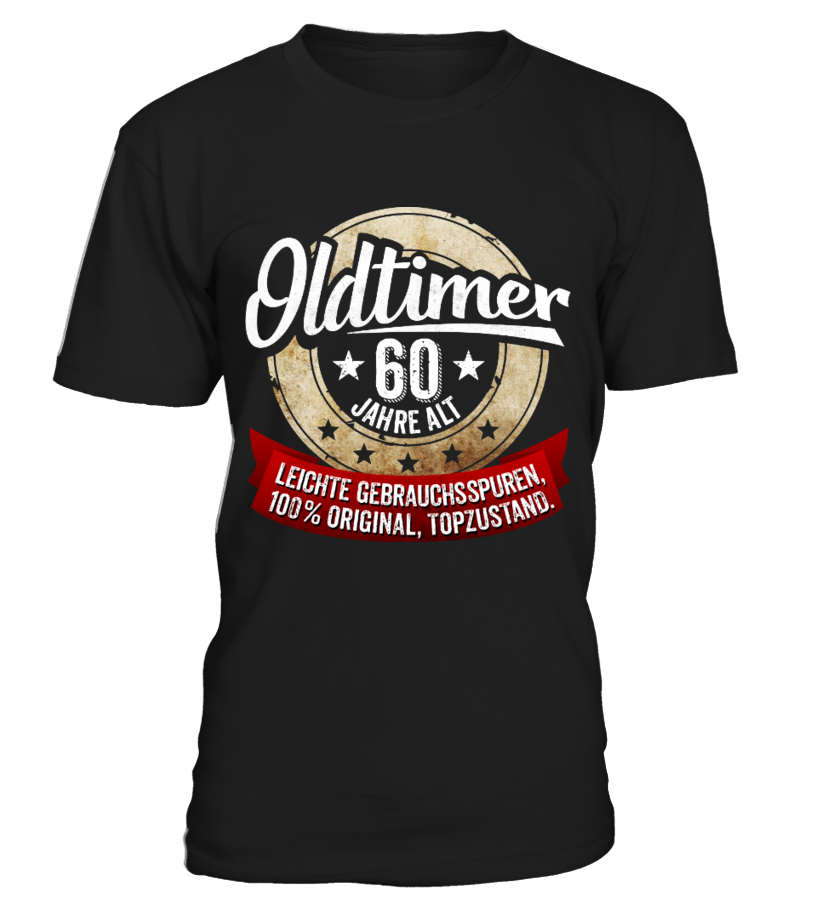 Zum 60 Geburtstag Oldtimer 60 Jahre T Shirt Teezily