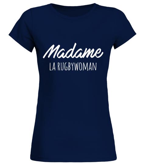 T-shirt Madame la rugbywoman | Teezily