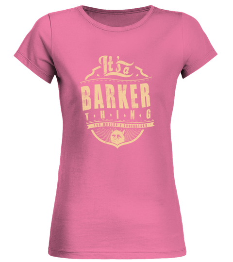 BARKER THING T-shirt | Teezily