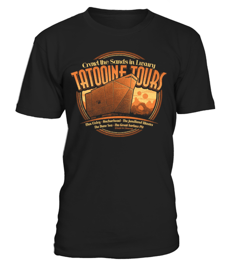 Tatooine Tours T-shirt | Teezily