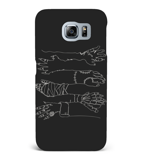 CLASSIC HORROR HANDS (LIGHT) T-SHIRT Samsung Galaxy S6 hoesje | Teezily