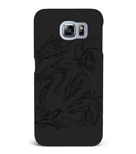 DRAGON SKETCHES T-SHIRT Samsung Galaxy S6 hoesje | Teezily