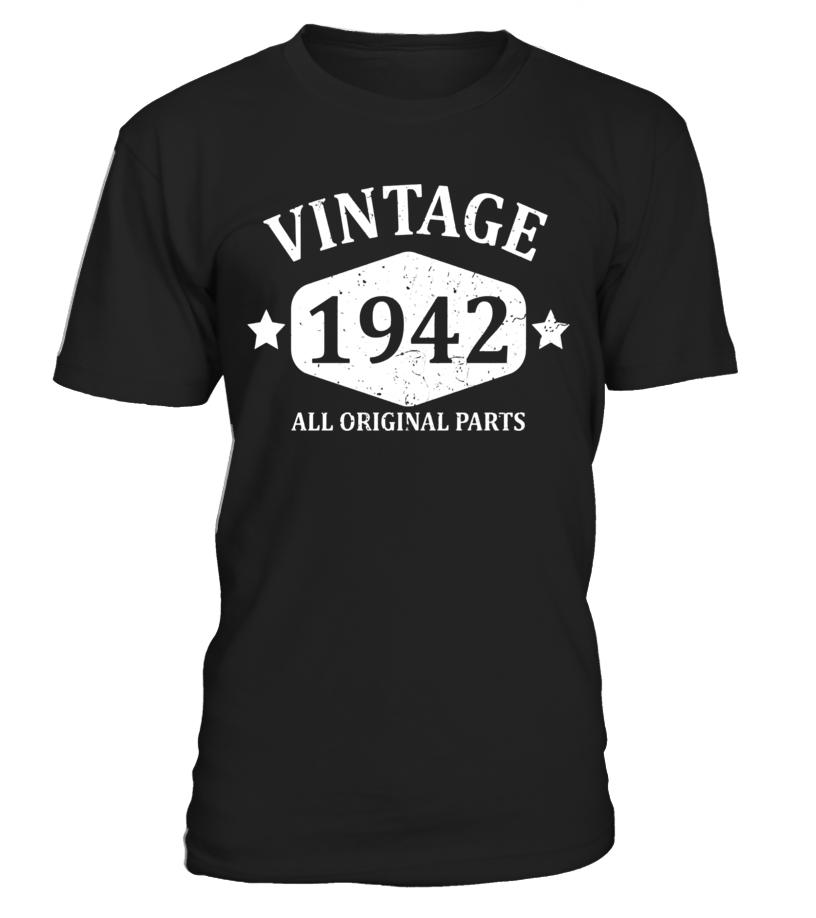 Funny Vintage 1942 75th Birthday Gift T-shirt Best Emoji Tee - T-shirt  sc 1 st  Teezily & Funny Vintage 1942 75th Birthday Gift T-shirt Best Emoji Tee - T ...
