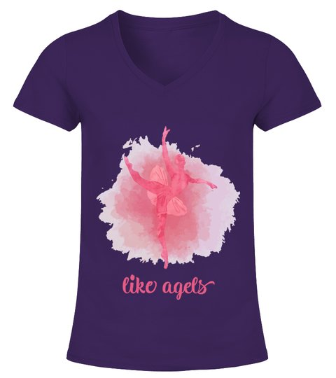 Camiseta like angels | Teezily
