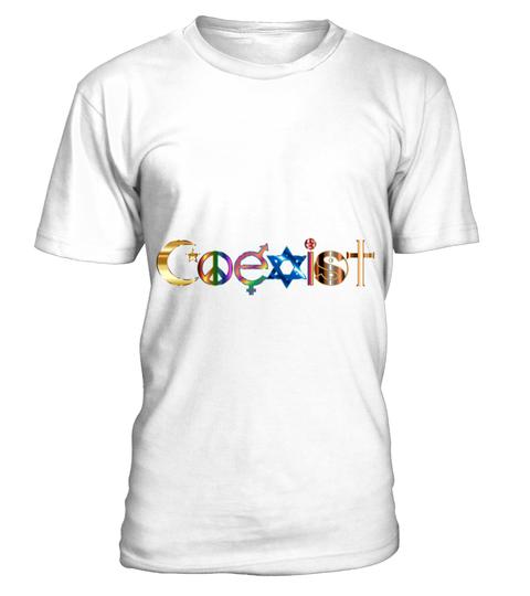 Maglietta COEXIST T-SHIRT | Teezily