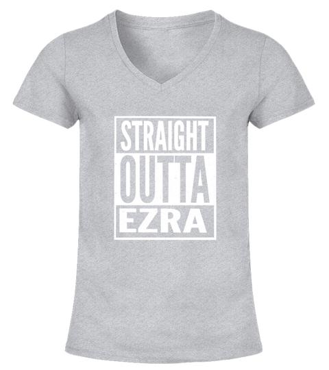 Maglietta Ezra Straight Outta Ezra | Teezily