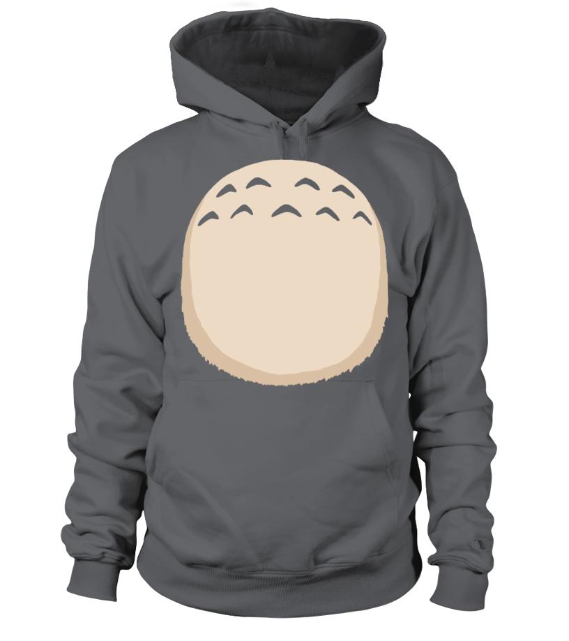 Totoro Tummy - Hoodie   Teezily