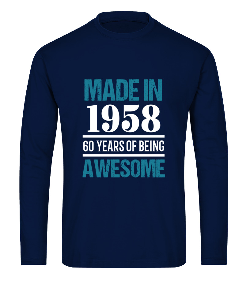 1958 Shirt60th Birthday Gift For Adults