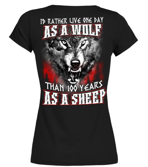 AS A WOLF T-shirt | Teezily
