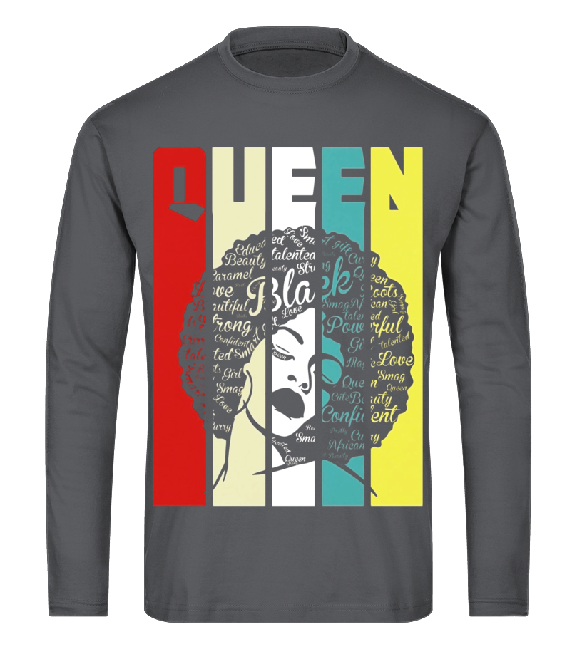 8e786877 Vintage Retro Strong Black Woman with Natural Hair Afro Tees - T ...
