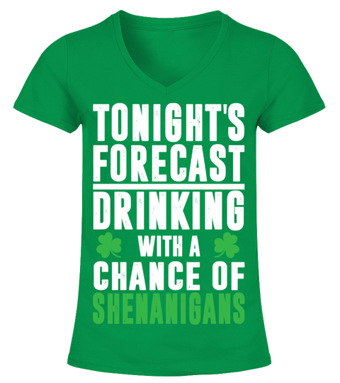T-shirt St Patrick's Day Chance Of Shenanigans | Teezily