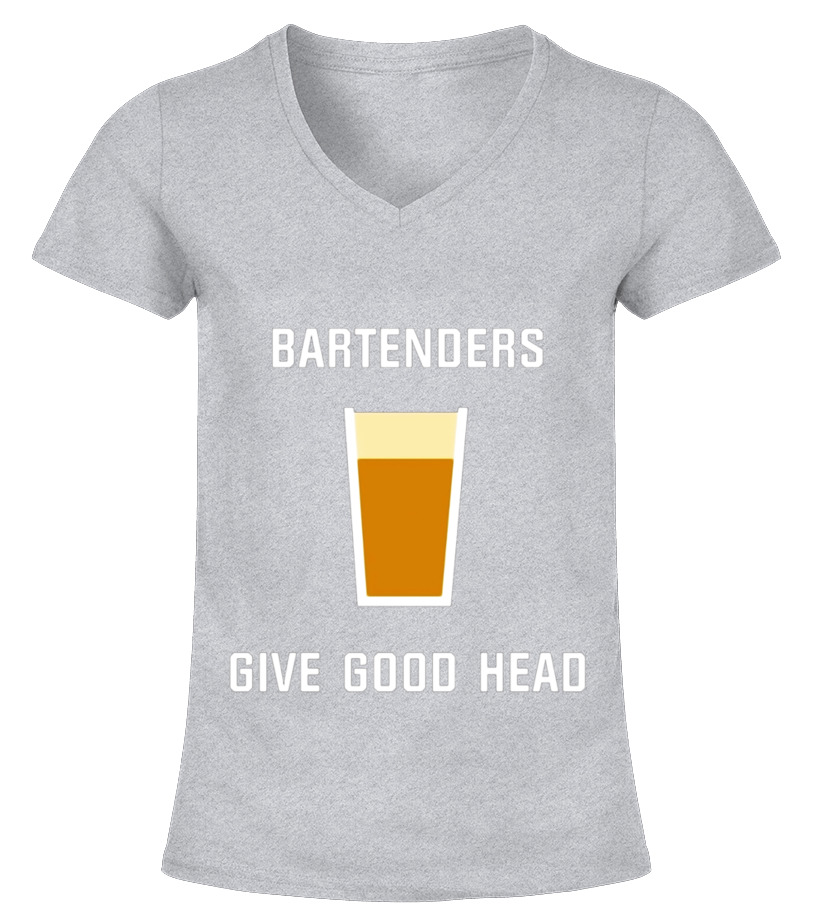 d18a4af70f0 Sweat à capuche - Bartenders Give Good Head Funny Novelty Beer T ...
