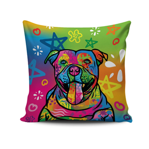 Pitbull pillow cover